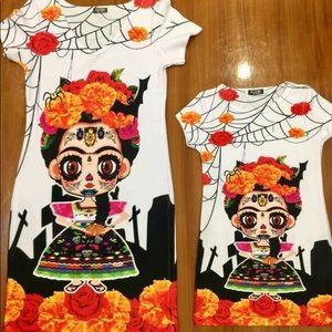 Frida Kahlo Halloween Dress Day of the Dead